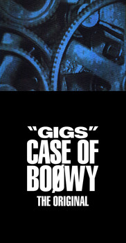 """GIGS"" CASE OF BOØWY -THE ORIGINAL-(CD4枚組+Tシャツ+ステッカー)"