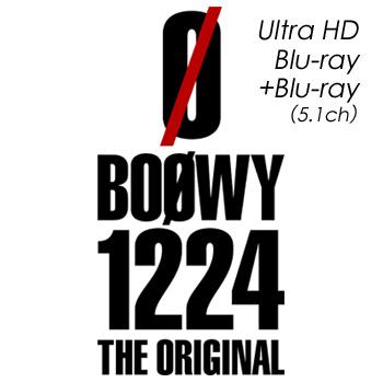 BOØWY 1224 -THE ORIGINAL- HD Blu-ray +Blu-ray(5.1ch)