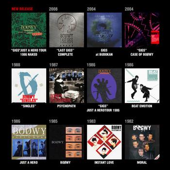 BOØWY 『Blu-spec CD』11タイトルが、さらなる高品質CD『Blu-spec CD2 ...
